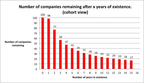 New business failure rates