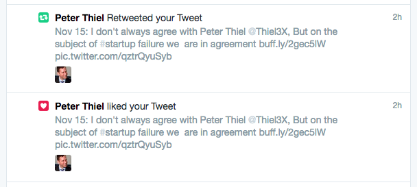 Peter Thiel likes the aticle