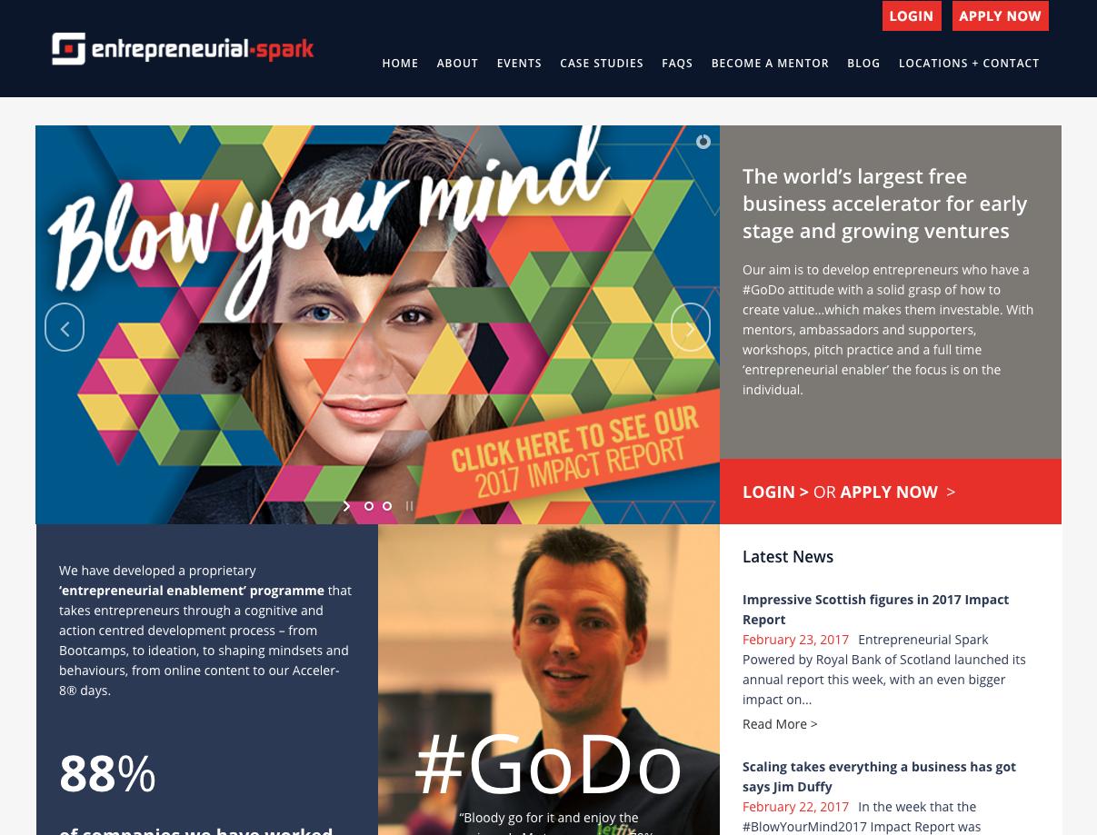 Pre-accelerator for Entrepreneurial Spark