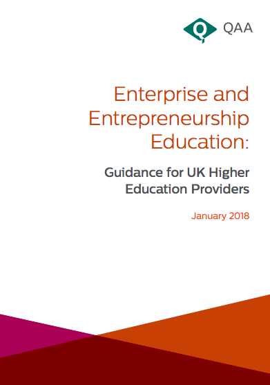 QAA Enterprise and entrepreneurship education guidance 2018